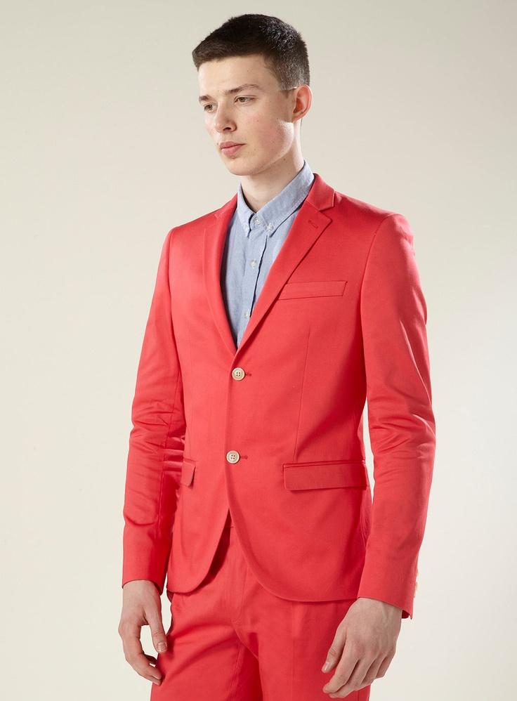 Coral Blazer. Want? No, NEED