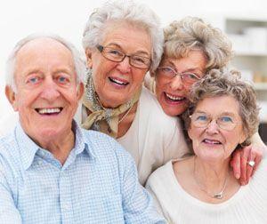 Senior Dating-Gruppe