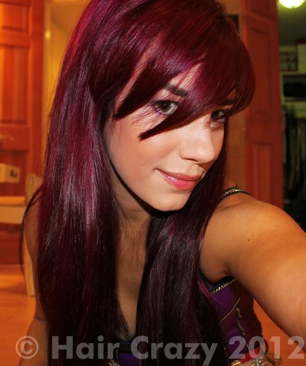 Amara Hair Color- Color Jamz Wild Red with Manic Panic ...