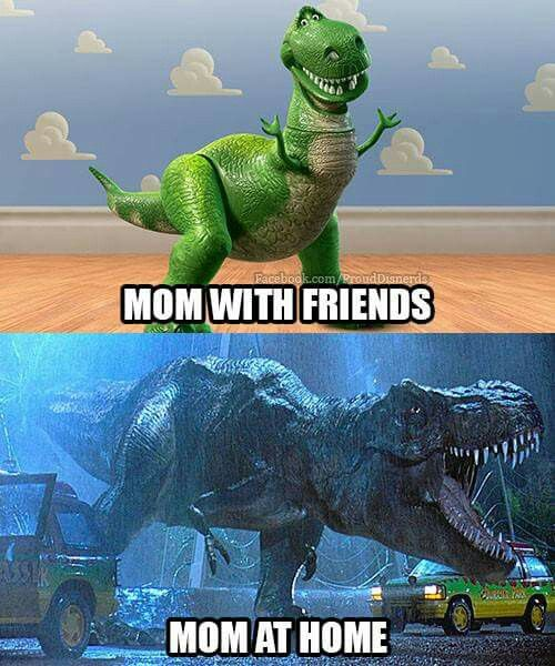 Don't think this is MY mom.. but.. XD