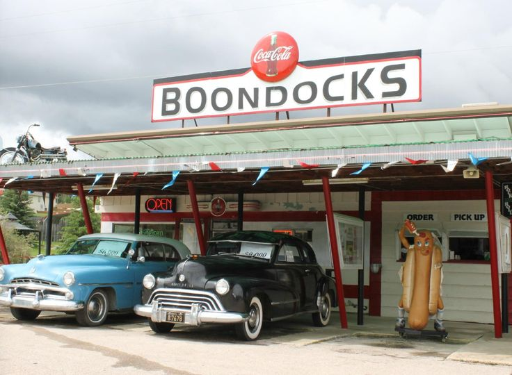 The Boondocks diner looks straight out of a movie with its drive-in look. Go live your best '50s lif... - Yelp