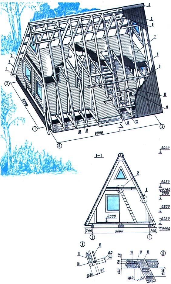 97 best Cottage images on Pinterest Small houses, Tiny house cabin - plan fabrication eolienne maison