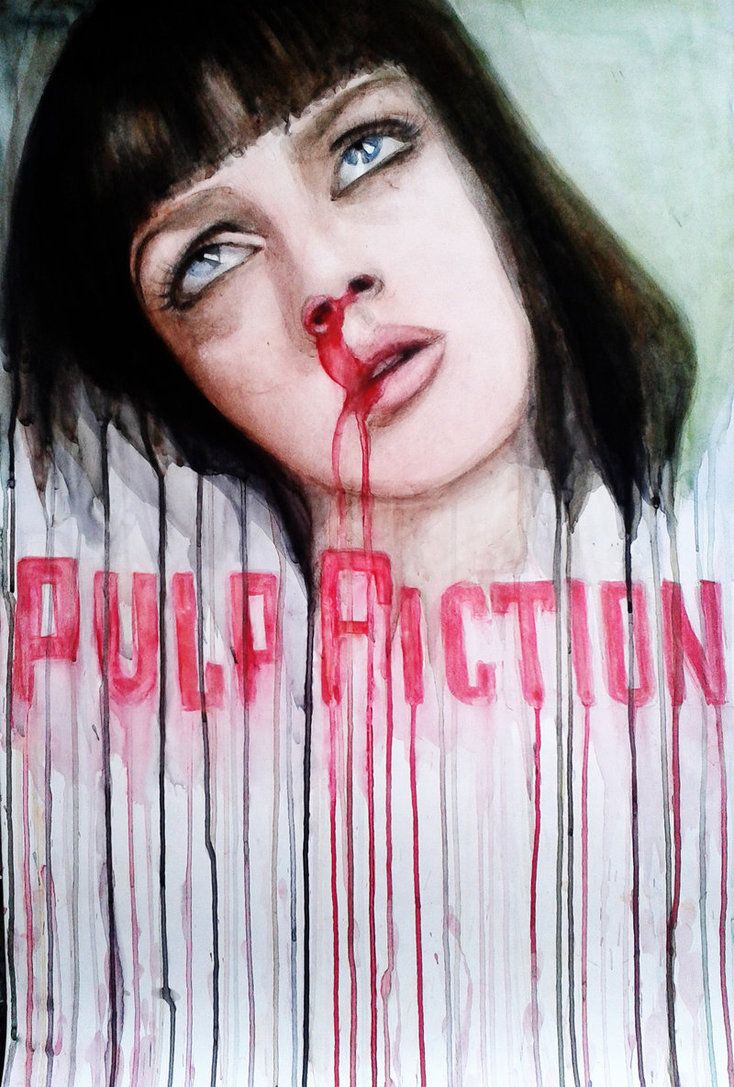 best ideas about pulp fiction poster quentin pulp fiction by anyamorrison