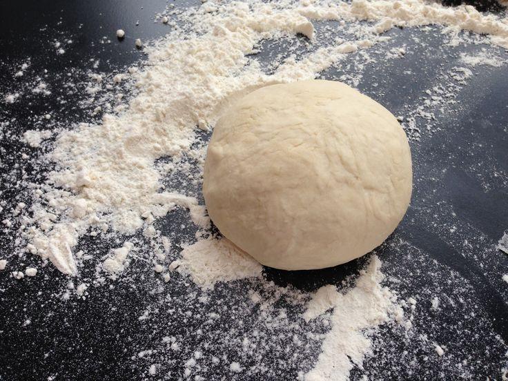 Baking steels pizzadeig