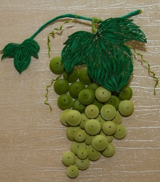 Quilled Grapes Quilling Pinterest