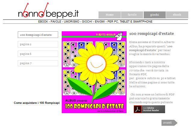 #enigmistica #rompicapi #estate #rebus #enigmi