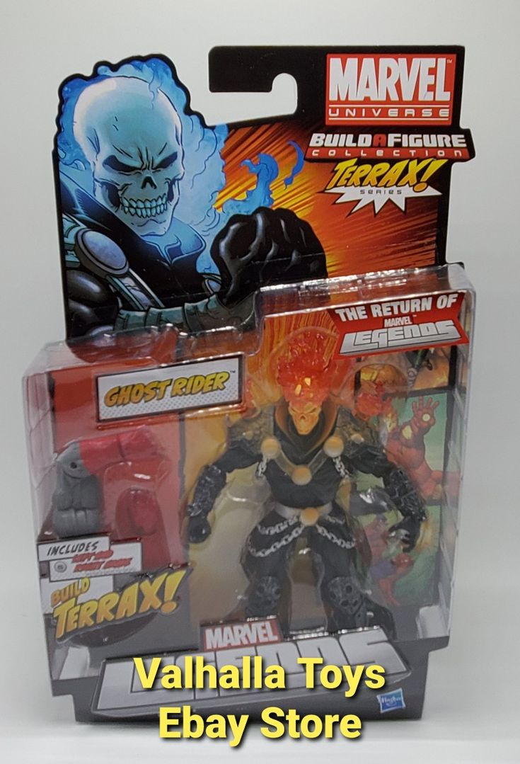 Terrax Build a Figure Line Marvel legends ghost rider