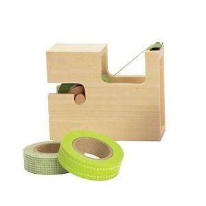 wood tape dispenser by tami