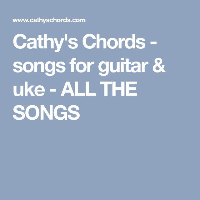 Songs For Guitar & Uke
