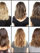 Textured Hairstyle Designs for Medium Hair - Hair Color Ideas