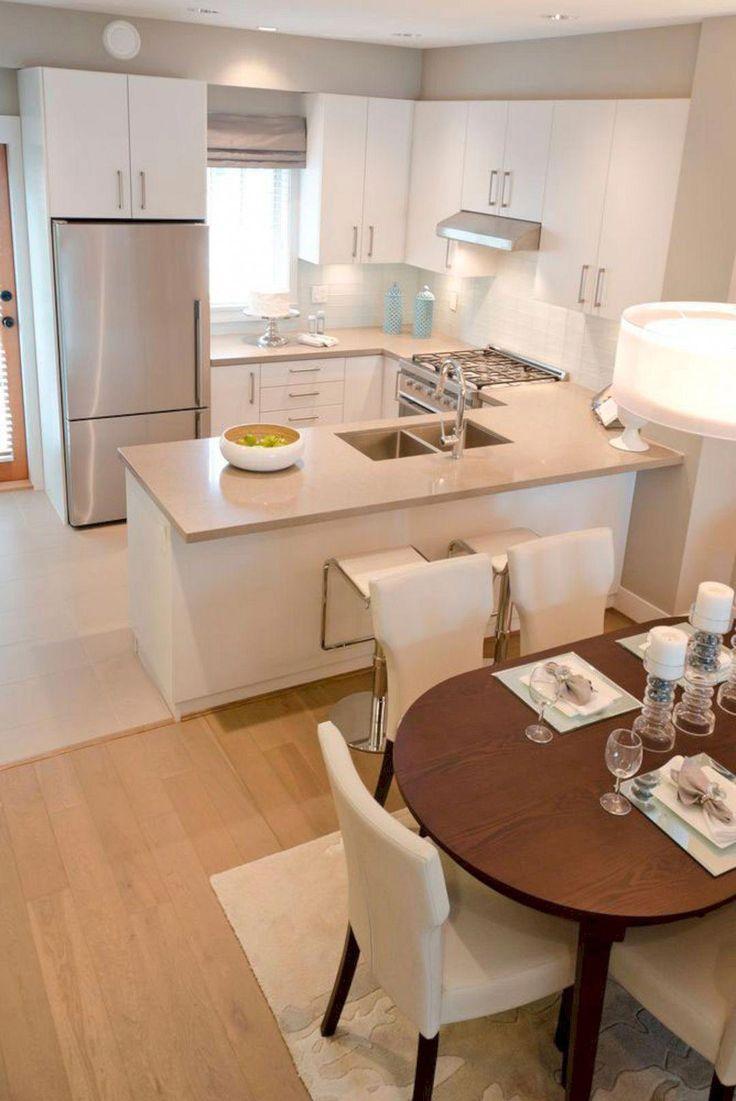 More ideas: Small U-Shaped Kitchen Remodel, Large U-Shaped Kitchen With Island, U-Shaped Kitchen With Peninsula Layout Ideas