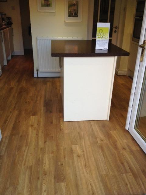 Amtico Spacia Traditional Oak vinilinės dizaino grindys.
