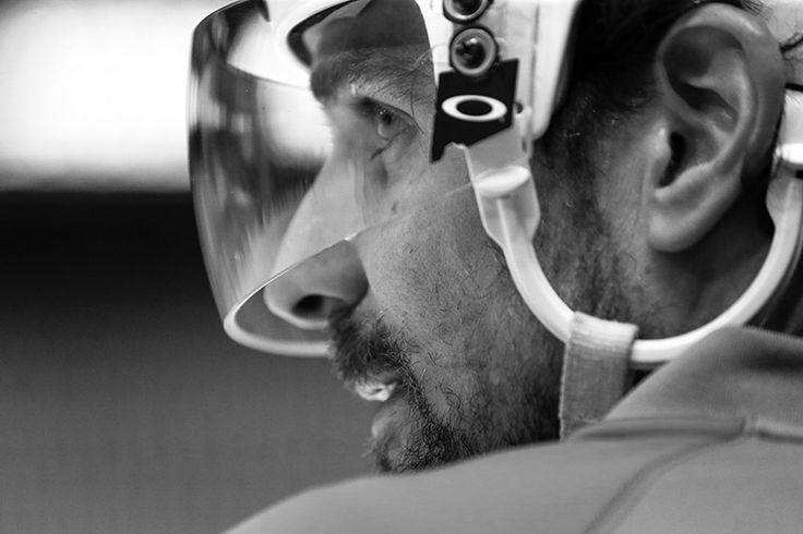 Patrick Sharp focuses on Game 4 against the Minnesota Wild. #Playoffs