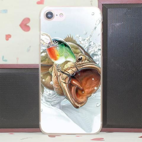 303V Fish Rapala Hard Case for iPhone 7 6 6S Plus 5 5S SE 5C 4S for Samsung S3 S4 S5 & Mini S6 S7 Edge Plus