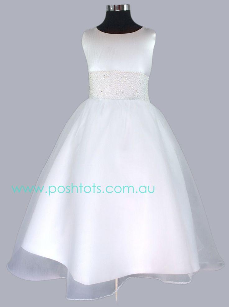 Jessica girls party/flowergirl dress sizes 4-10. www.poshtots.com.au