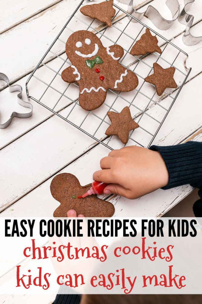 Christmas Cookie Recipes Your Kids Can Help With Easy Cookie