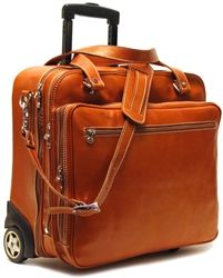 Floto Monticello Brief Monticello Rolling Briefcase 4000 Wheeled Briefcase on Wheels