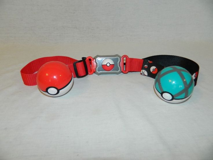 POKEMON Clip N Carry Pokeball BELT TOMY 2016 adjustable Toy Nintendo #TOMY