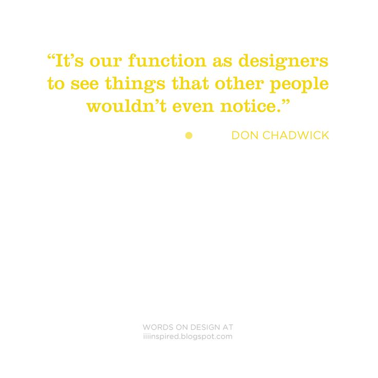 WORDS ON DESIGN _ Don Chadwick