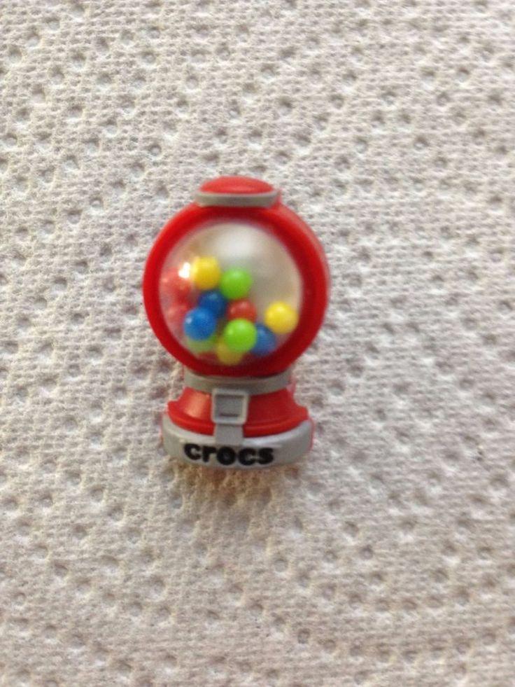 GUMBAL MACHINE JIBBITZ GUMBALL MACHINE SHOE CHARM FITS CROCS 3D JIBBITZ GUMBALLS #Jibbitz