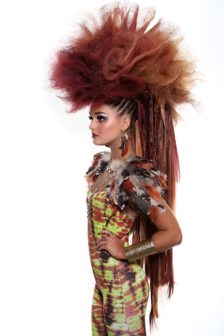Hair by MOHH www.mohh.ie Photo: Absolute Studios TRIBAL.