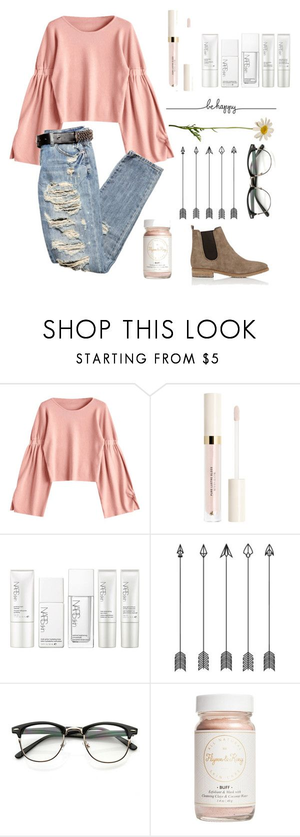 """Example Set- Your Style!"" by happy-sunflower ❤ liked on Polyvore featuring NARS Cosmetics, Flynn&King and Barneys New York"