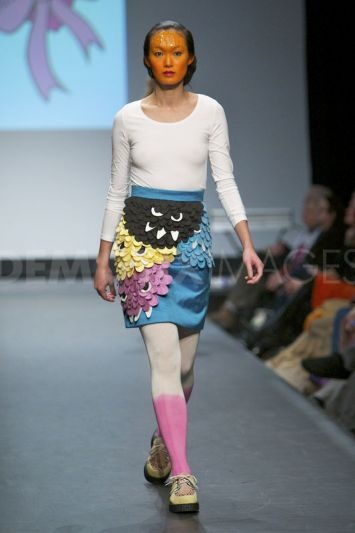 Fam Irvoll shows off her latest collection at Oslo Fashion Week