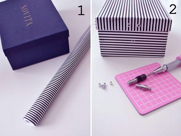 17 meilleures id es propos de boite a chaussure sur pinterest rangement de casier scolaire. Black Bedroom Furniture Sets. Home Design Ideas