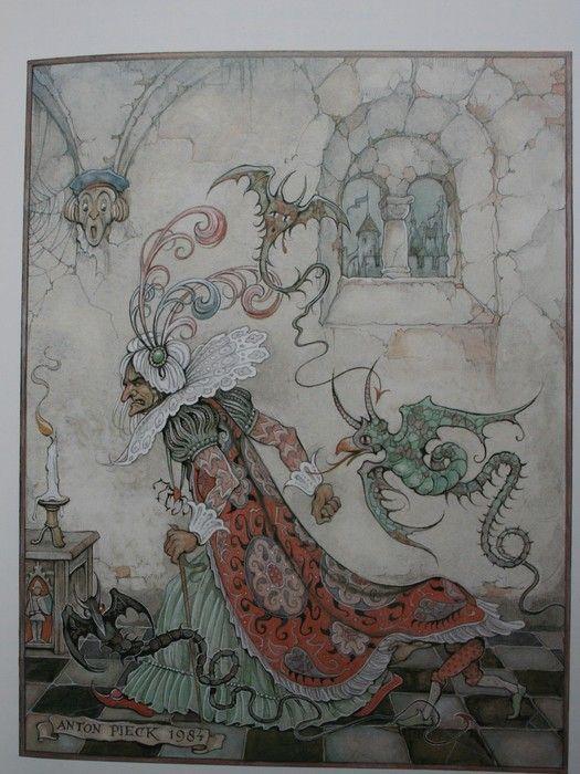 Sprookjes van Grimm, illustratie door Anton Pieck