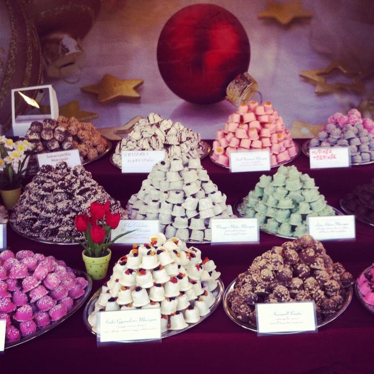 Dulces del mercado medieval, 2000 kcal por bocado