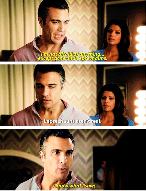 "When he had to face his fears. | 23 Of Rogelio's Most Hilarious Quotes On ""Jane The Virgin"". I love Rogelio. Jaime Camille"