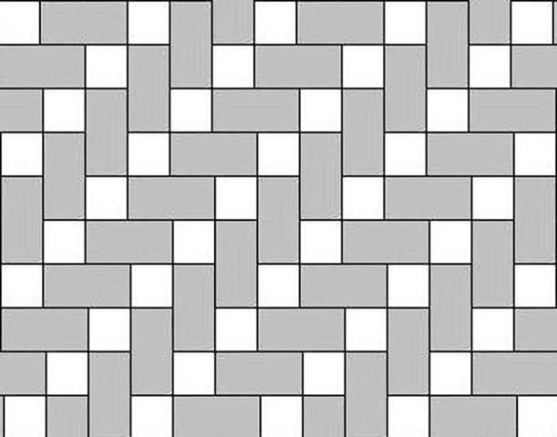 Paver Patterns For Two Sizes 6x6 And 6x9 Paver Pattern