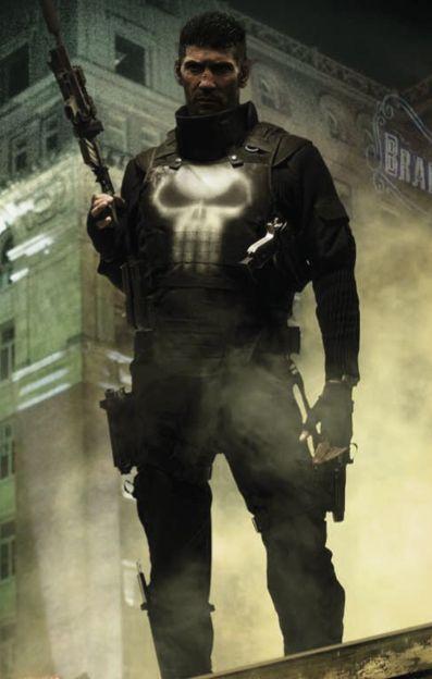 Jon Bernthal is Punisher in Daredevil.