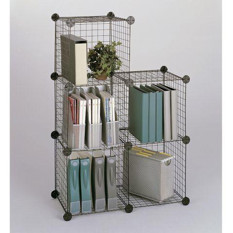 Tesco direct: Safco Wire 5 Shelf Shelving Unit