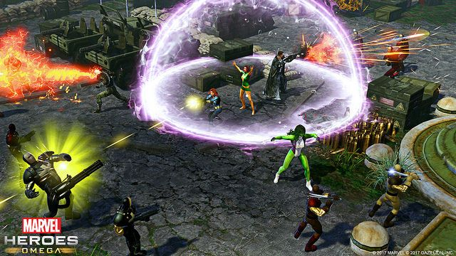 Marvel Heroes Omega Coming To PlayStation 4 & Xbox One This Spring
