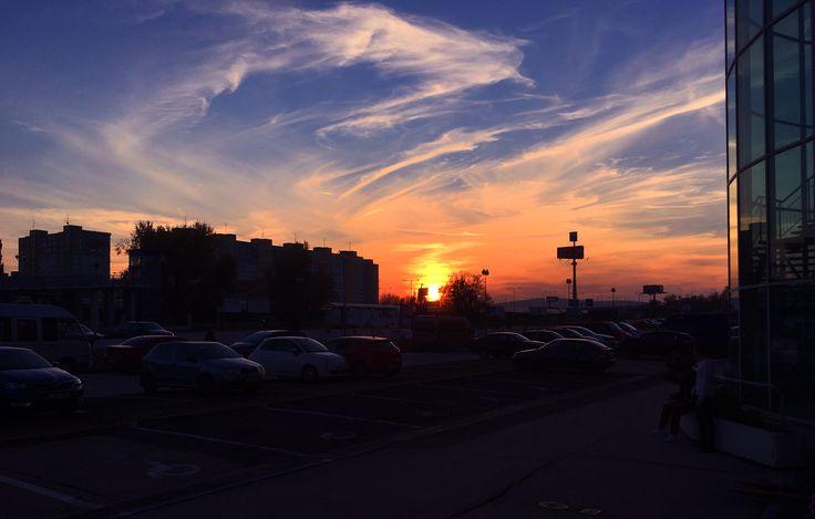 Sunset Bratislava #bratislava #slovakia #sunset #sunrise #city