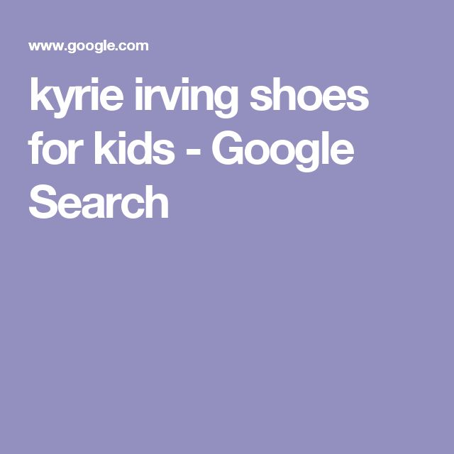 kyrie irving shoes for kids - Google Search