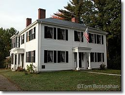 Ralph Waldo Emerson House. Concord, MA. New England's Federal Architecture