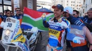 Riaan van Niekerk Dakar Rally 2014