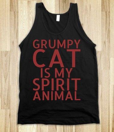 Grumpy Cat Is My Spirit Animal