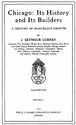 5 Volume 1912 Genealogy History of Chicago Illinois IL