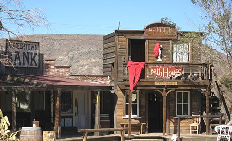 Pioneer Town in Yucca Valley. The old west is still alive.