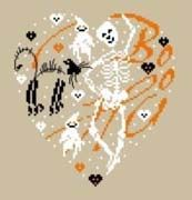 Halloween heart (the chart is in two parts further up my page)