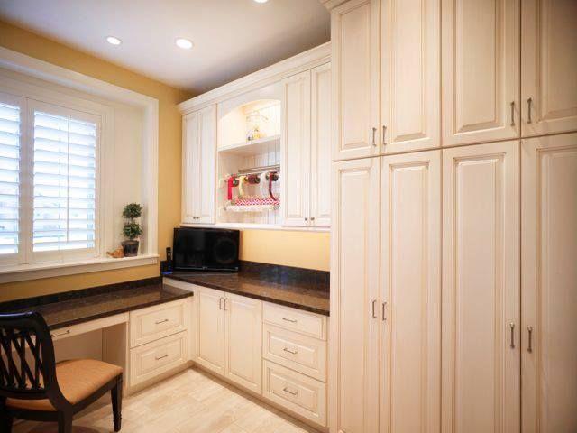 white cabinetry | www.mcewancustomhomes.com