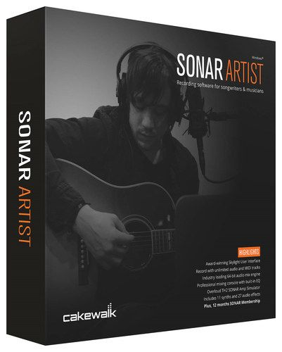 Sonar Artist Software for PC - Windows, Black/Blue/Gray/Orange
