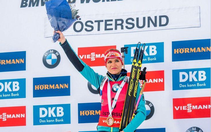Vítězka Gabriela Koukalová