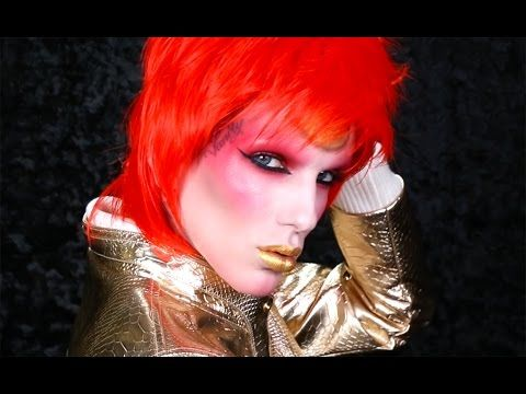 """DAVID BOWIE """"ZIGGY STARDUST"""" Makeup Tutorial - YouTube.  The BEST and most accurate"""
