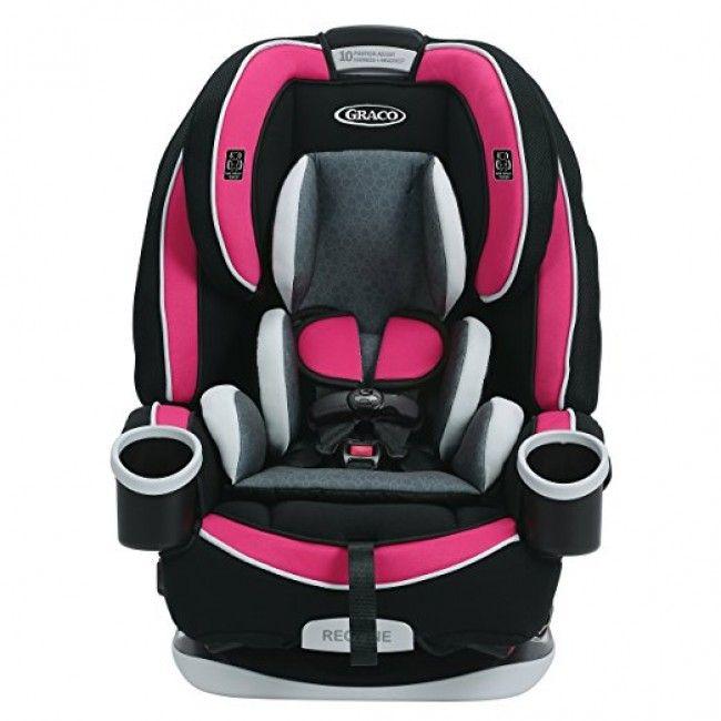 Cadeirinha ajustável para carros para bebês até 55 kilos - Graco 4Ever 4-em-1 Azalea