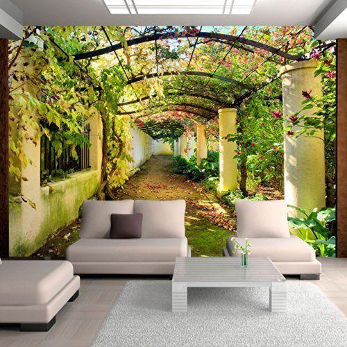 Very Perfect For A Patio Into A Backyard. Especially If You Actually Plant A  Garden · Mural WallWall ... Part 94