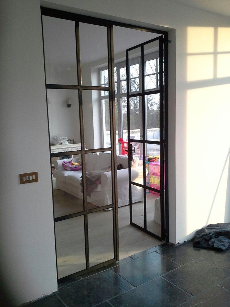 Dubbele stalen deur in Retrosteel - profiel STAALHART